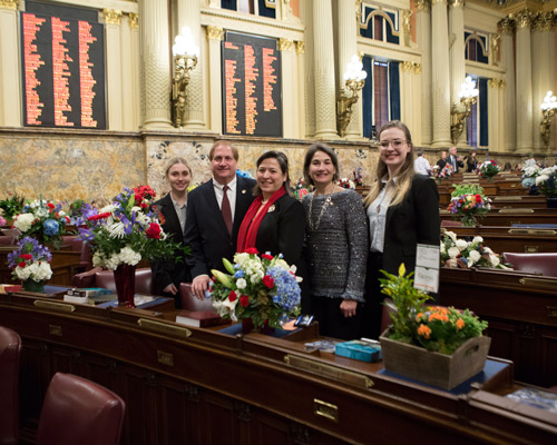 Gaydos Takes Oath to Serve the 44th District